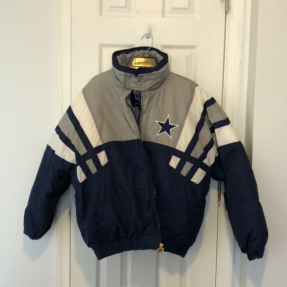 competitive price 99252 0318e vintage dallas cowboys puffer coat
